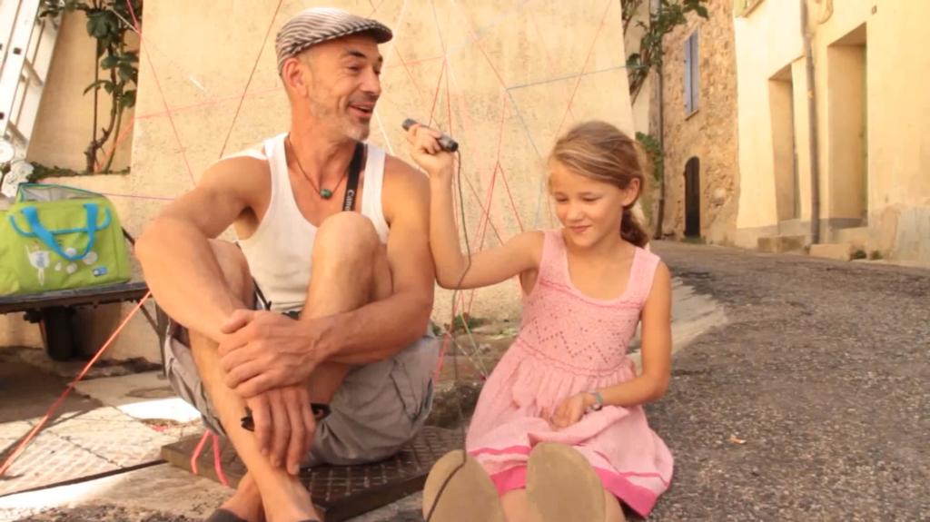 film avec les enfants de Davejean (Août 2018)